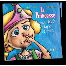 Princesse au doigt dans le nez
